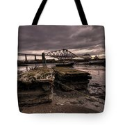 Old Jetty By The Bridge Tote Bag