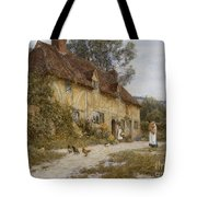 Old Kentish Cottage Tote Bag
