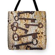 Old Keys Tote Bag