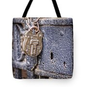 Old Lock Tote Bag