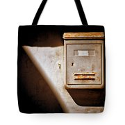 Old Mailbox With Doorbell Tote Bag