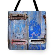 Old Mailboxes Tote Bag