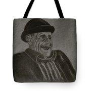 Old Man Laughing Tote Bag
