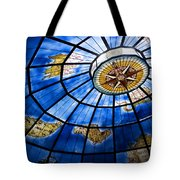 Old Map Of The Canary Islands Tote Bag