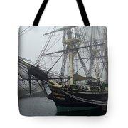 Old Massachusetts Sailing Ship Tote Bag