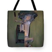 Old Mercury Boat Engine Tote Bag