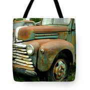Old Mercury Truck Tote Bag
