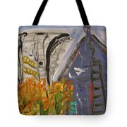Old Mill Building-autumn Tote Bag