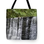 Old Mill Waterfall Tote Bag