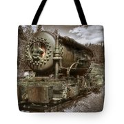 Old Mine Train Banff Tote Bag