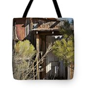 Old Miner's Cabin Tote Bag