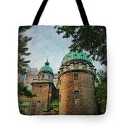 Old Montreal Church Tote Bag