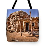 Old Navajo Stone House Tote Bag