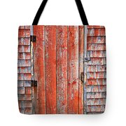 Old Orange Door  Tote Bag