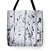 Old Painted Wood Abstract Tote Bag