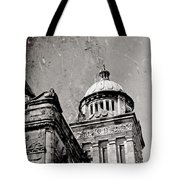 Old Parliament In Bc Tote Bag