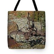 Old Plow Tote Bag