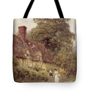 Old Post Office Brook Near Witley Surrey Tote Bag