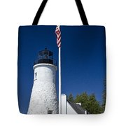 Old Presque Isle Light Station Tote Bag