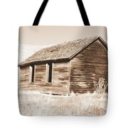 Old Ranch Hand Cabin Ll Tote Bag