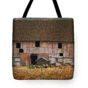 Old Rosedale Barn Tote Bag
