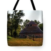 Old Round Barn Tote Bag