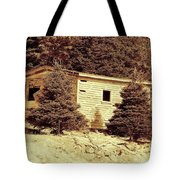 Old Shed Nothing Left But Memories Tote Bag