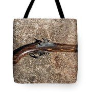 Old Shooting Iron Tote Bag