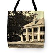 Old Southern Plantation Tote Bag