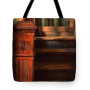 Old Staircase Tote Bag by Jill Battaglia