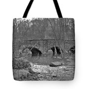 Old Stone Bridge Over The Unami Creek - Sumneytown Pa Tote Bag