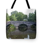 Old Sumneytown Pike Bridge Over The Perkiomen Creek Tote Bag
