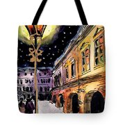 Old Time Evening Tote Bag