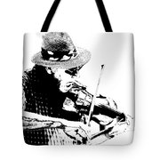 Old Time Fiddle Player No.560 Tote Bag