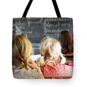 Old Time Learning Tote Bag