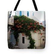 Old Town Church Paros Tote Bag