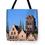 Old Town In Gdansk Tote Bag