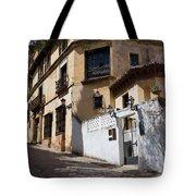 Old Town In Ronda Tote Bag