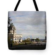 Old Town Quebec Tote Bag