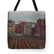 Old Town Vancouver Tote Bag