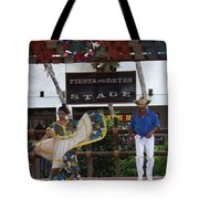 Old Towne San Diego Dancing Tote Bag