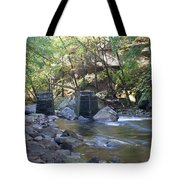 Old Train Trestles Tote Bag