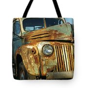 Old Tri-way Truck Tote Bag