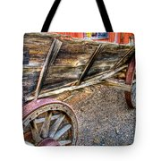 Old Wagon Tote Bag