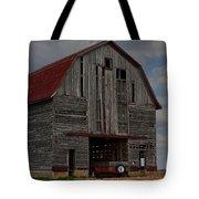 Old Wagon Older Barn Tote Bag