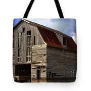 Old Wagon Older Barn Different View Tote Bag