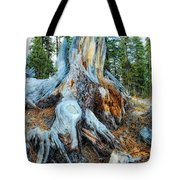 Old Warrior Tote Bag by Donna Blackhall