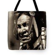 Old Warrior Tote Bag