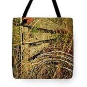 Old Weathered Gate Tote Bag