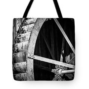 Old West Water Mill 2 Tote Bag by Darcy Michaelchuk